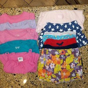 Other - BUNDLED toddler girl, summer clothes. 4T